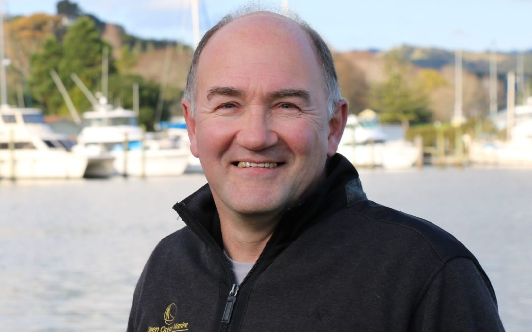 Introducing Michael the latest member of our Open Ocean Marine Team!